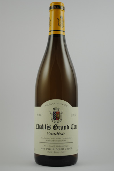 2018 Chablis Grand Cru Vaudésir, Droin